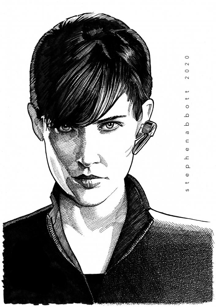 Cobie Smulders par Stefanosart